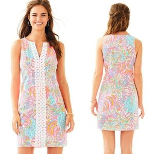 Lilly Pulitzer Ryder Shift Dress in Swish Fish